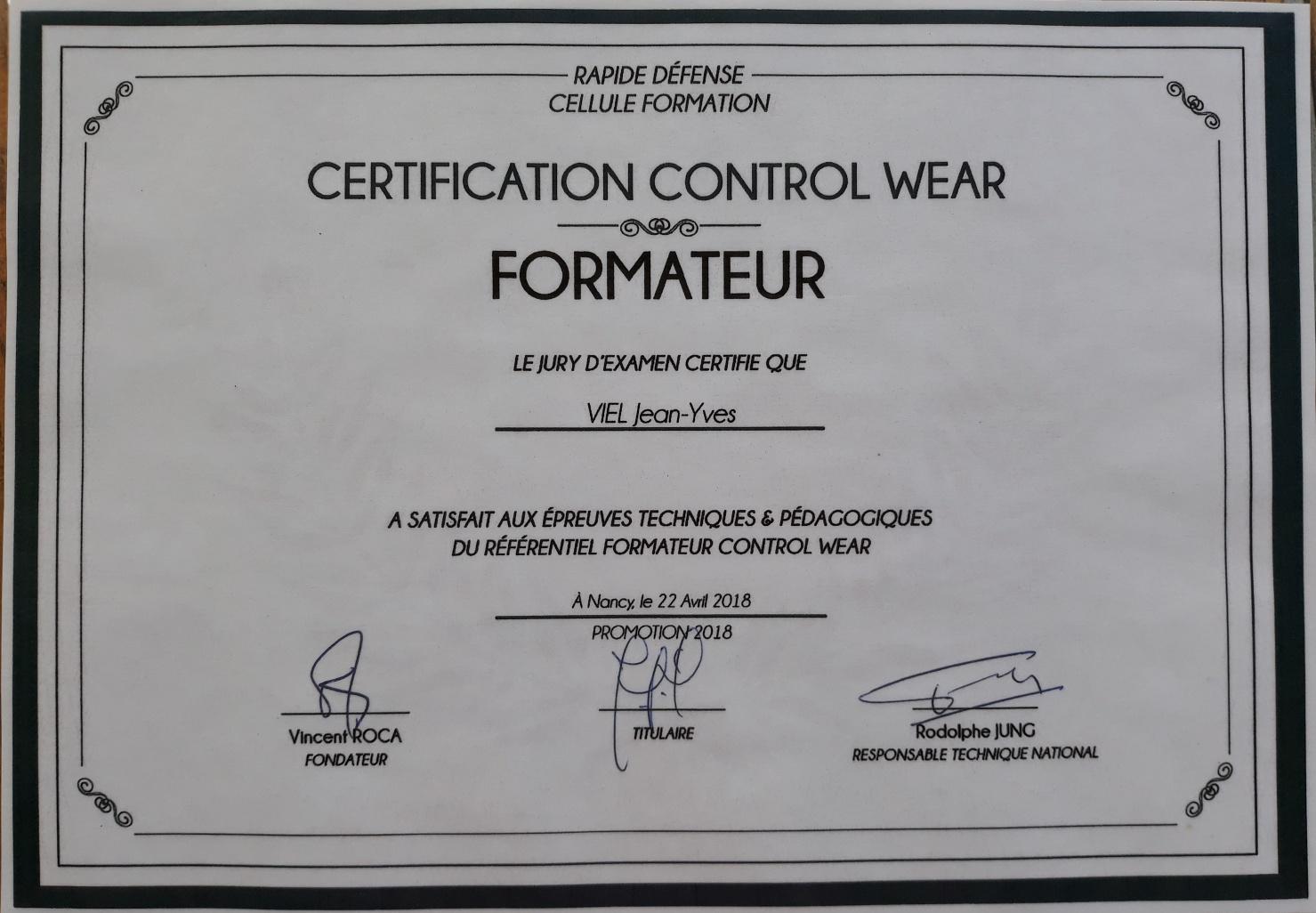 Control wear 1