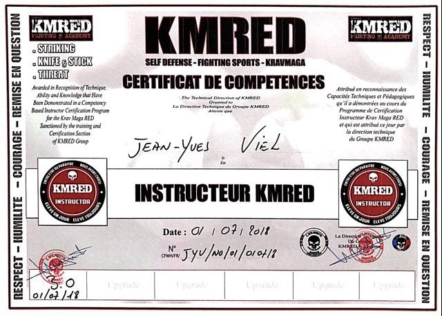 Instructeur kmred 2